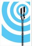 Albero di comunicazione su mezzi mobili Fotografia Stock Libera da Diritti