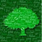 Albero di Eco Immagine Stock