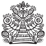 Albero di fioritura ornamentale Immagini Stock Libere da Diritti