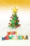 Albero di Natale 2012 Fotografie Stock