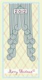 Albero di Natale 2012 Royalty Illustrazione gratis