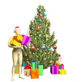 Albero di Natale Fotografie Stock