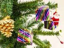 Albero di Natale Fotografia Stock Libera da Diritti
