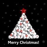 Albero di Natale Albero del nuovo anno Royalty Illustrazione gratis