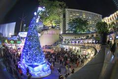 Albero di Natale all'eredità 1881 a Hong Kong Immagine Stock Libera da Diritti