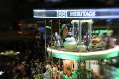 Albero di Natale all'eredità 1881 a Hong Kong Fotografia Stock Libera da Diritti