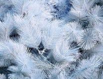 Albero di Natale artificiale Fotografia Stock
