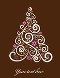 Albero di Natale artistico royalty illustrazione gratis