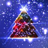Albero di Natale astratto Immagine Stock Libera da Diritti