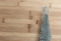 Albero di Natale decorativo per la decorazione fotografia stock