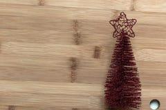 Albero di Natale decorativo per la decorazione fotografia stock libera da diritti
