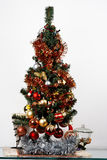 Albero di Natale decorato immagini stock libere da diritti