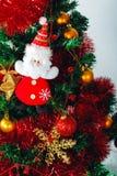 Albero di Natale dei giocattoli fotografia stock