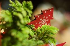 Albero di Natale della decorazione di Natale Fotografie Stock Libere da Diritti