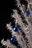 Albero di Natale di alluminio Fotografie Stock Libere da Diritti