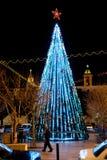 Albero di Natale di Bethlehem Immagini Stock Libere da Diritti