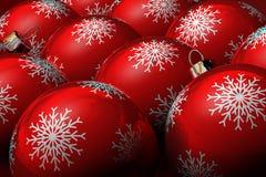 Albero di Natale di natale della bagattella illustrazione di stock