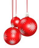 Albero di Natale di natale della bagattella illustrazione vettoriale