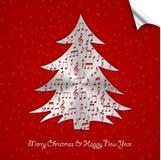 Albero di Natale di puzzle Fotografia Stock