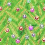Albero di Natale di struttura royalty illustrazione gratis