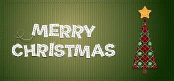 Albero di Natale di vettore Immagini Stock Libere da Diritti