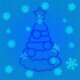 Albero di Natale di vettore Fotografia Stock
