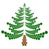 Albero di Natale di vettore royalty illustrazione gratis