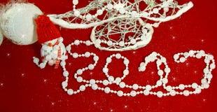 Albero di Natale e decorazioni Immagine Stock Libera da Diritti