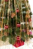 Albero di Natale e regali Fotografia Stock