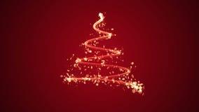 Albero di Natale elegante illustrazione di stock