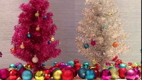 Albero di Natale falso archivi video