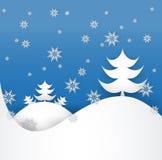 Albero di Natale fatto dai pezzi di Libro Bianco Immagini Stock Libere da Diritti