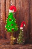 Albero di Natale Handmade Immagini Stock