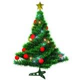 Albero di Natale isolato Immagini Stock Libere da Diritti
