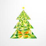 Albero di Natale isolato Fotografie Stock Libere da Diritti