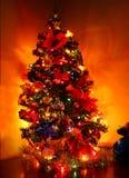 Albero di Natale lucido immagine stock libera da diritti