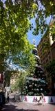 Albero di Natale Martin Place Sydney Fotografia Stock