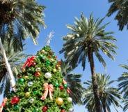 Albero di Natale a Miami Fotografie Stock