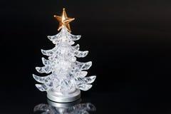 Albero di Natale miniatura Fotografia Stock