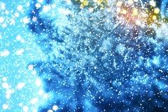 Albero di Natale Nuovo anno felice Immagini Stock Libere da Diritti