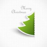 Albero di Natale, progettazione Fotografia Stock