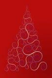 Albero di Natale a spirale Immagine Stock Libera da Diritti