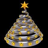 Albero di Natale stylized (noleggi) Fotografia Stock Libera da Diritti