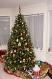 Albero di Natale tradizionale Immagine Stock