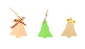 Albero di Natale tre Immagini Stock
