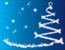 Albero di Natale vago Fotografie Stock