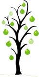 Albero di Natale verde Immagini Stock