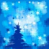 Albero di Natale, vettore Immagini Stock Libere da Diritti