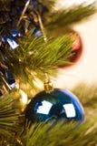 Albero di nuovo anno Fotografia Stock