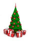 albero di Nuovo-anno Immagine Stock Libera da Diritti